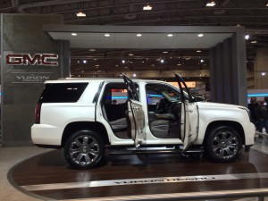 The GMC Yukon Denali at The Washington Auto Show !!!